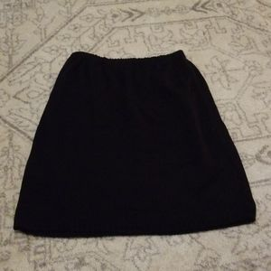 Vintage wool look skirt